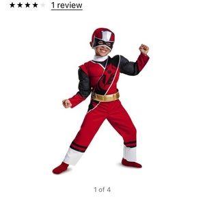 Other - Toddler Red Power Ranger Costume
